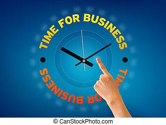 Hora de los negocios