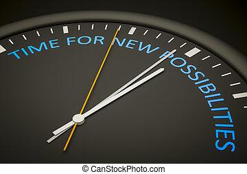 Hora de nuevas posibilidades