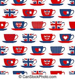 Hora del té británico