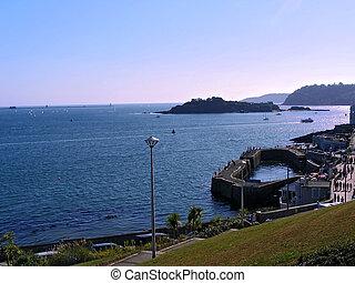 Hora del verano en Plymouth