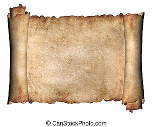 horizontal, manuscrito