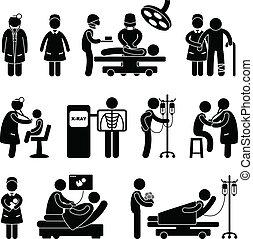 Hospital médico de cirugía