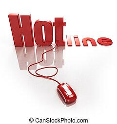 hotline, en línea