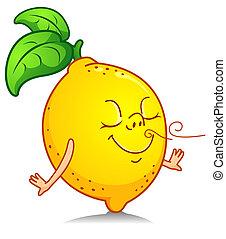 Huele a limón