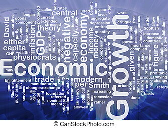 hueso, concepto, económico, plano de fondo, crecimiento