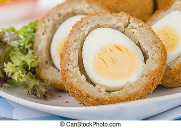 Huevo escocés