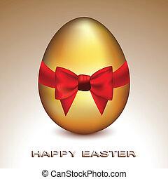 Huevo Golden Easter
