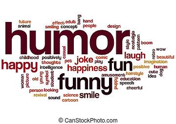 Humor palabra nube