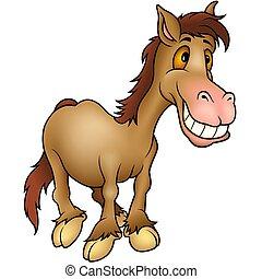 humourist, caballo