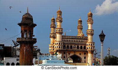 Hyderabad arquitectura histórica
