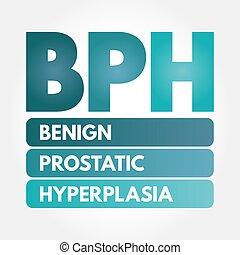 hyperplasia, -, prostatic, bph, benigno, siglas