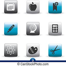 Icon serie 9 -educación