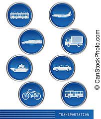 iconación de transporte
