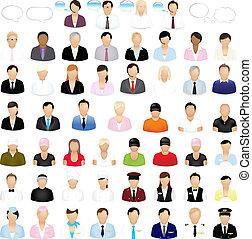 Icones de gente