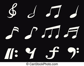 Icones de la música de White Freehead
