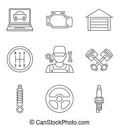 Icones lineales automáticos vol 2