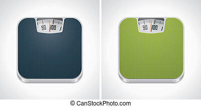 Icono a escala de peso Vector
