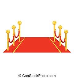 icono de alfombra roja