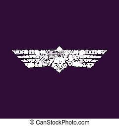 icono de aves