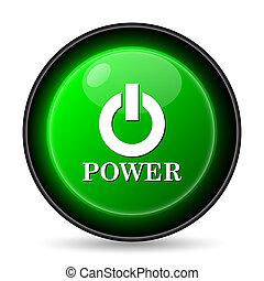 Icono de botón de encendido
