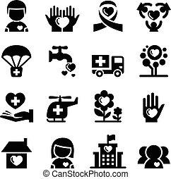 icono de caridad