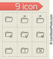 Icono de carpeta Vector