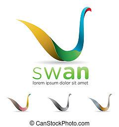icono de cisne