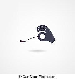 icono de cuchara