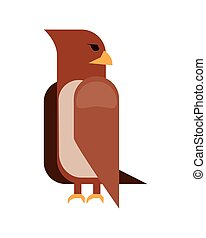 icono de dibujos de águila