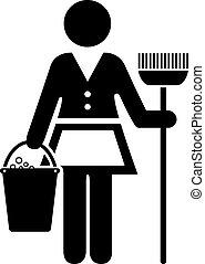 icono de doncella