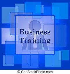 icono de entrenamiento de negocios