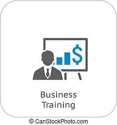 icono de entrenamiento de negocios.