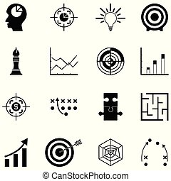 Icono de estrategia