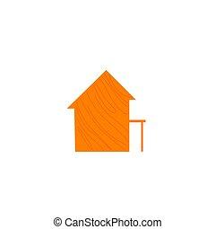 icono de la casa, diseño
