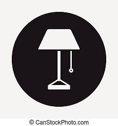 icono de la lámpara
