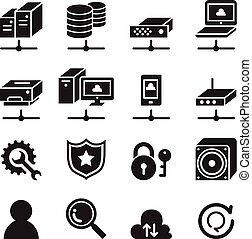 Icono de la red informática