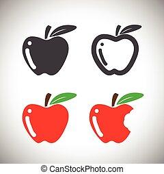 icono de manzana
