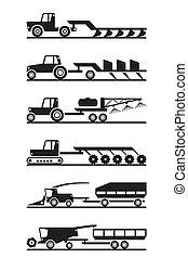 Icono de maquinaria agrícola