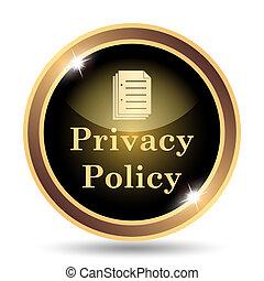 Icono de política de privacidad