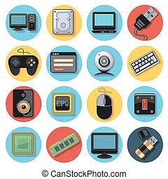 Icono de tecnología