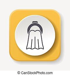 icono de toalla