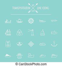 Icono de transporte.