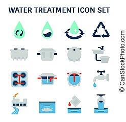 Icono de tratamiento de agua