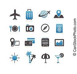 Icono de viaje