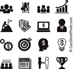 Icono del concepto de negocios