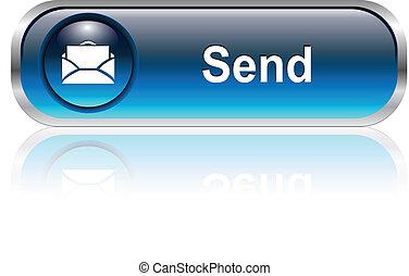 Icono del correo, botón