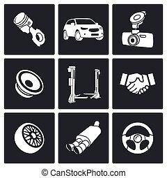 Icono del servicio de automóviles