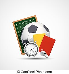 icono deportivo. Bola de fútbol