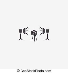 icono, estudio de la foto