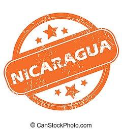 icono grunge de Nicaragua